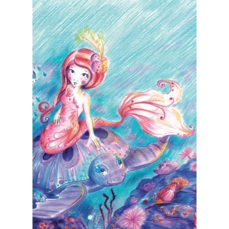 Carte postale : Le secret de l'océan