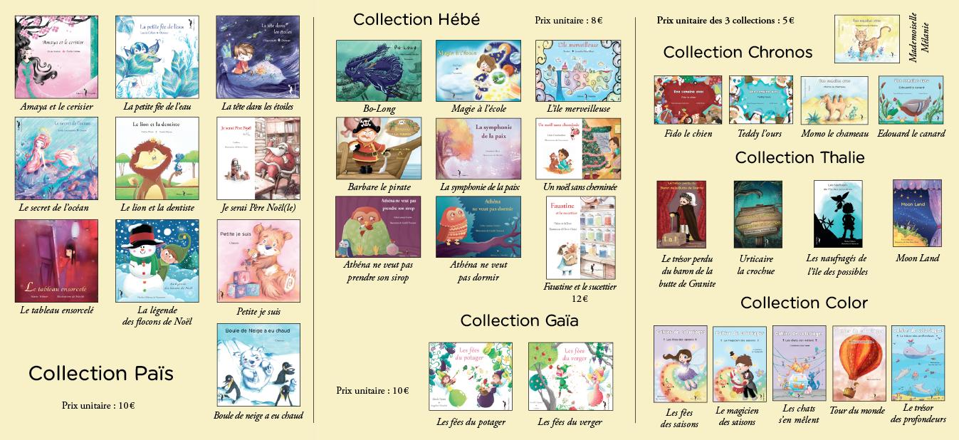 Des livres colorés pour les enfants de 1 à 12 ans